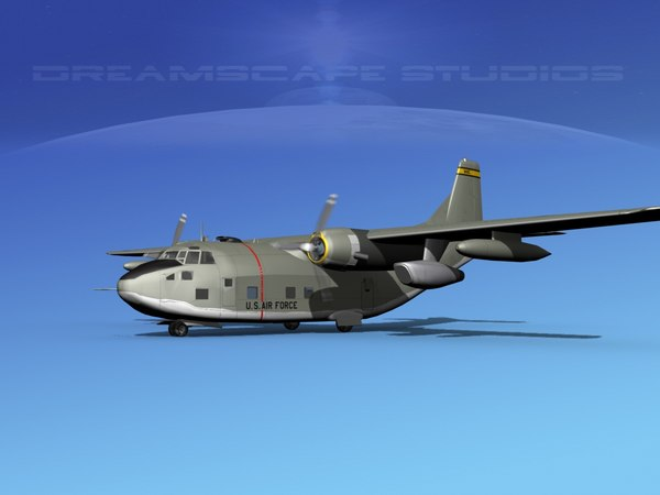 aircraft fairchild c-123 provider model