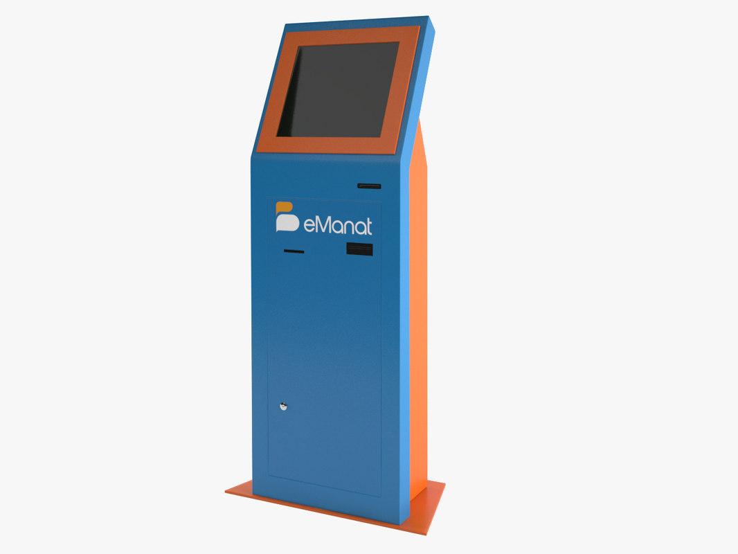 3D e-manat terminal
