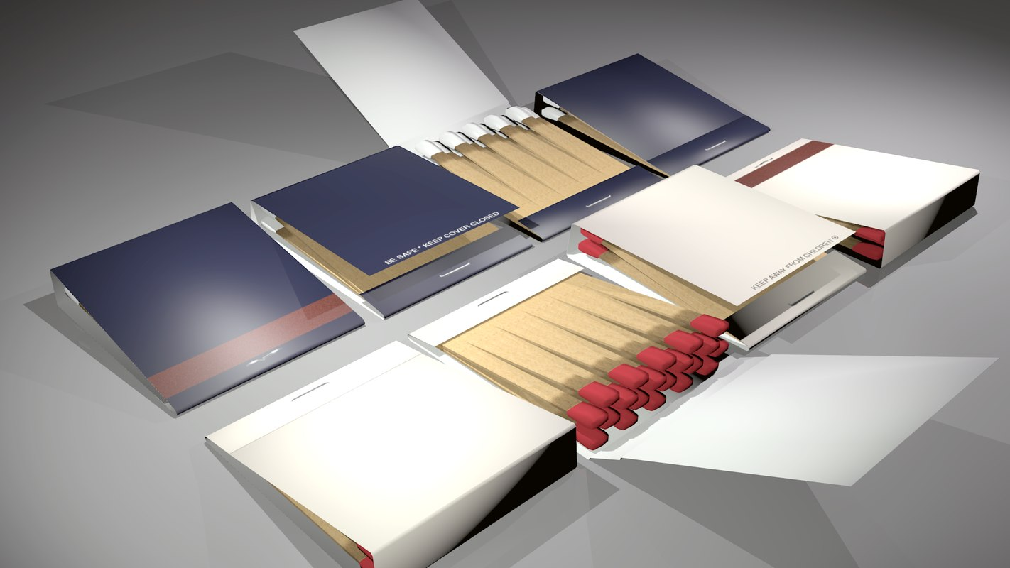 match matchbook 3D model