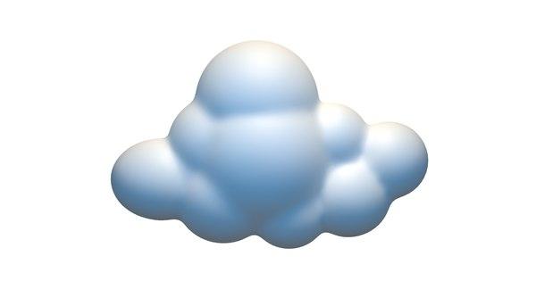 cloud 3D model
