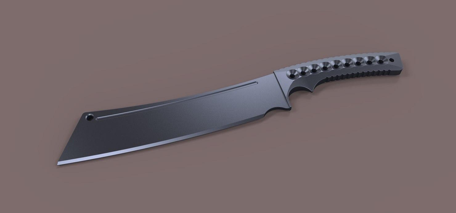 knife warmonger 3D model