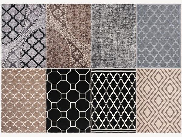 3D kayoom carpet modern model