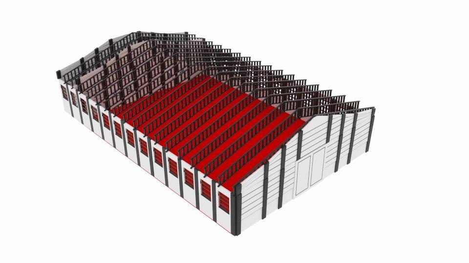 3D sport ware house