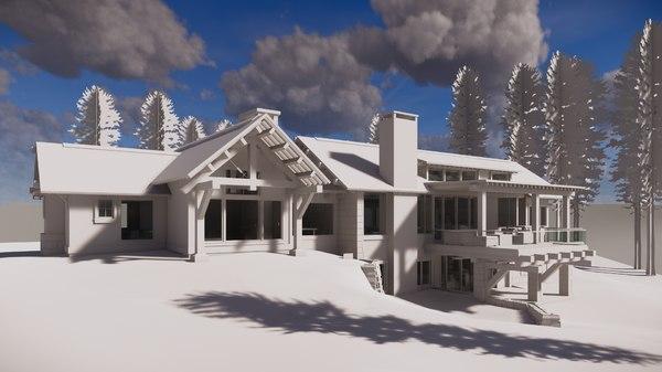 3D revit project template