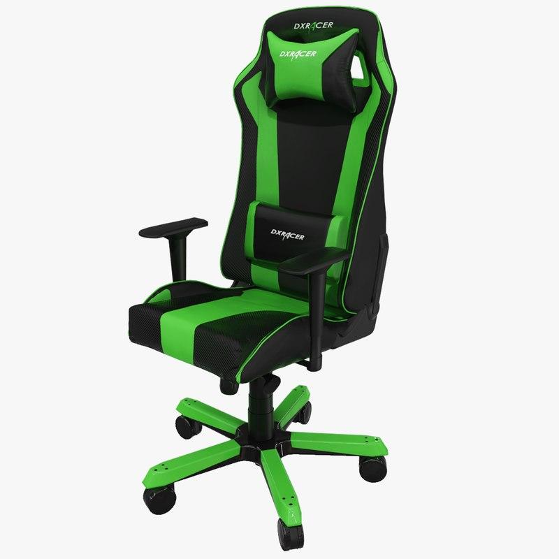 3D model dxracer king gaming chair