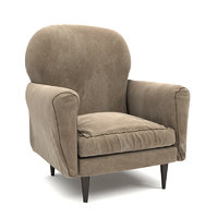 armchair interior design model