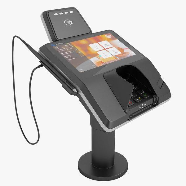 3D credit card terminal
