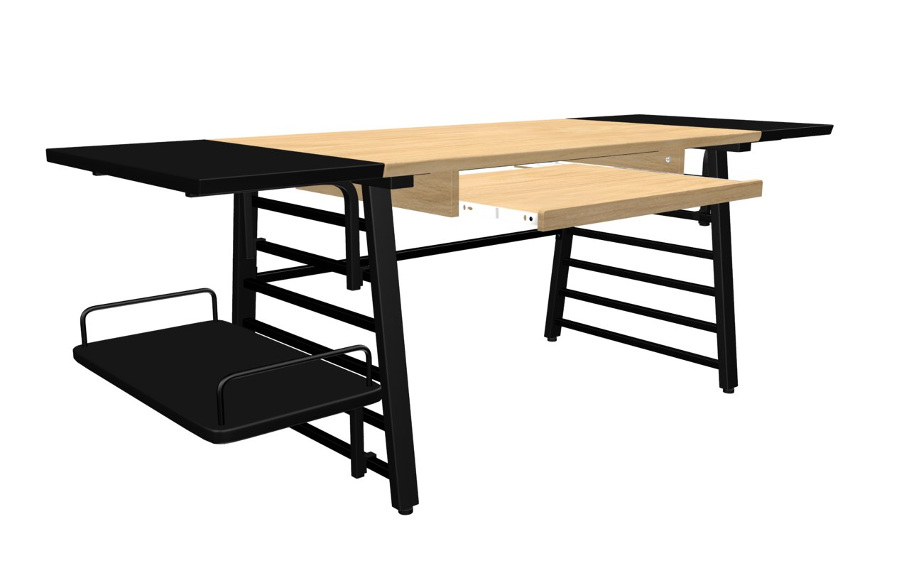 calico table 3D model