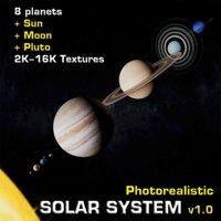 solar photorealistic v1 0 3D model