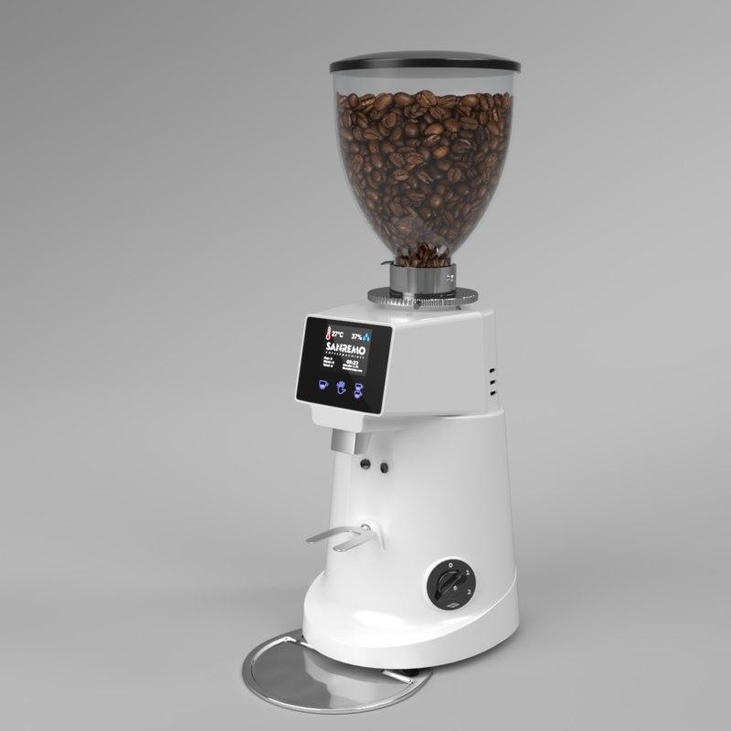 3D blender sanremo coffee grinder