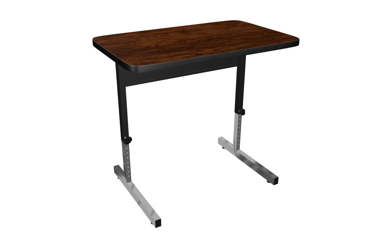 3D adapta table model