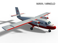 dhc-6 twin otter model