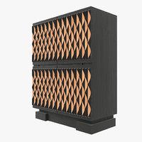 3D bar cabinet