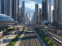 Future City. Day. Main Street