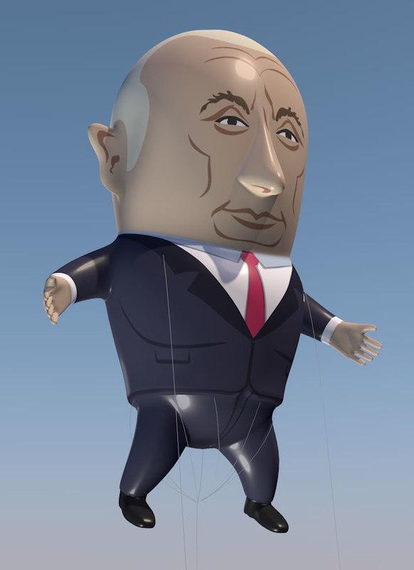 vladimir putin balloon 3D model