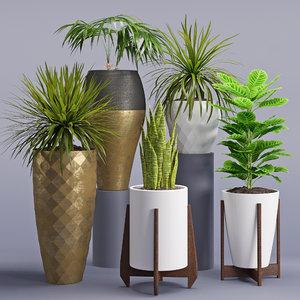 3D model houseplant 28