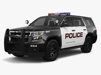Chevrolet Tahoe 2018 Police