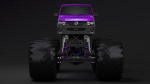 monster truck transporter model
