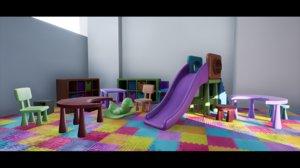 playroom kit 3D model