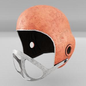 football helmet american 3D
