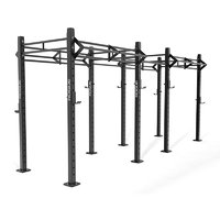 3D model crossfit rack rogue