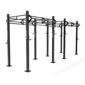 3D model crossfit rack rogue