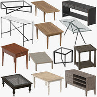 tables transitional 3D model