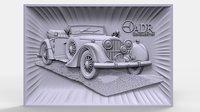 bas relief 3D model
