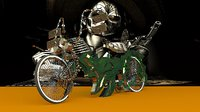 3D lowrider bike model