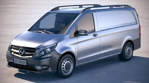 3D mercedes vito short model