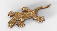 lizard pendant 3D model