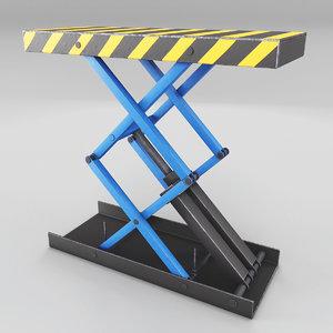 service station jack 3D model