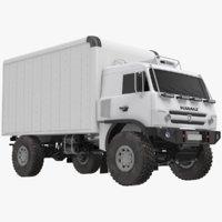 3D transporter truck model