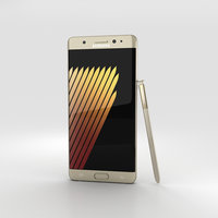 3D model samsung galaxy note