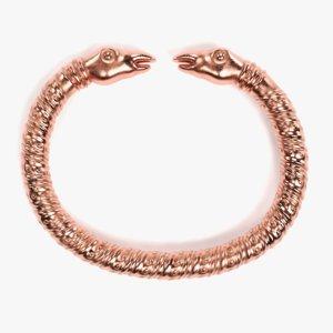 3D viking bracelet