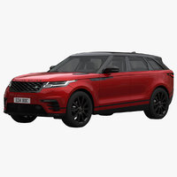 3D land rover range velar model