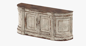 3D sideboards classical traditional