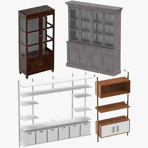 shelving systems 3D