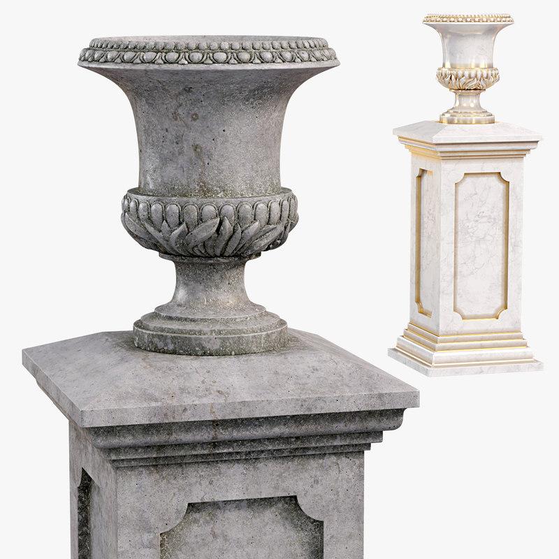 classic vase 01 model