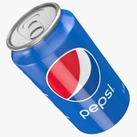 drink cans pepsi 3D