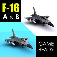 3D b block 15 model