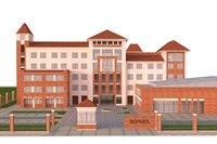 school building 3D model