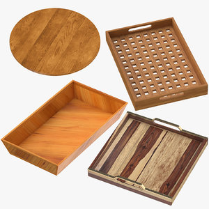 trays modern classical 3D