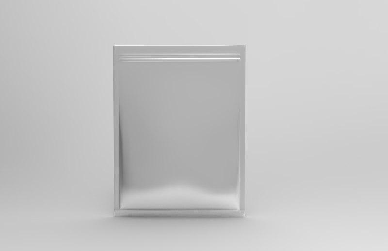 packaging sachet model
