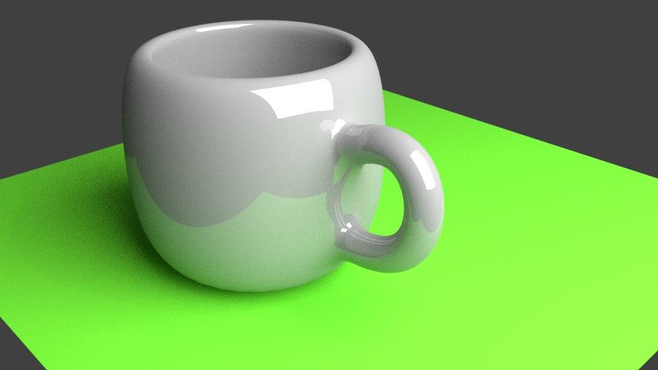 ceramic cup blender 3D