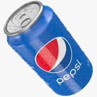Pepsi Can Water Droplets