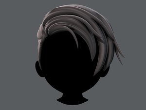 hair style boy v27 model