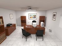 classic office 3D