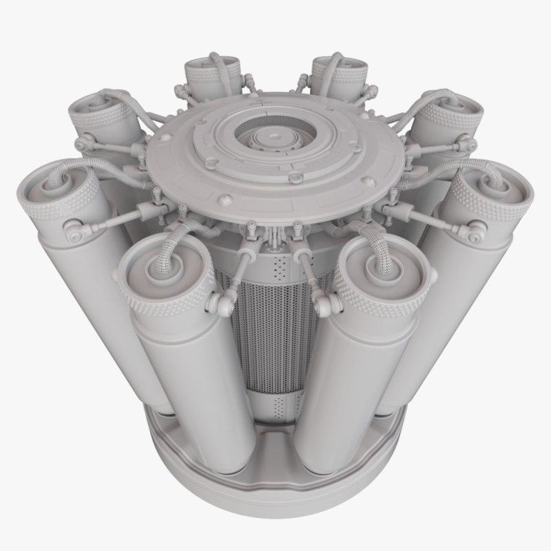 colbs 3D model