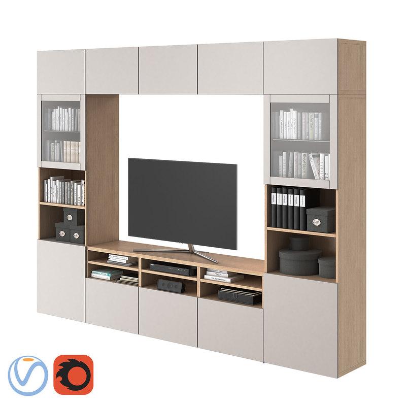 3D Ikea Besta Model